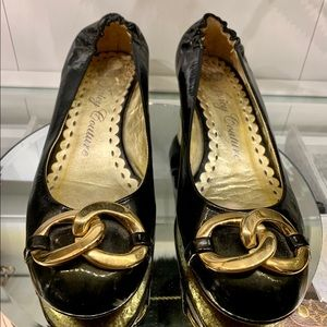 Juicy Couture Ballets with heels
